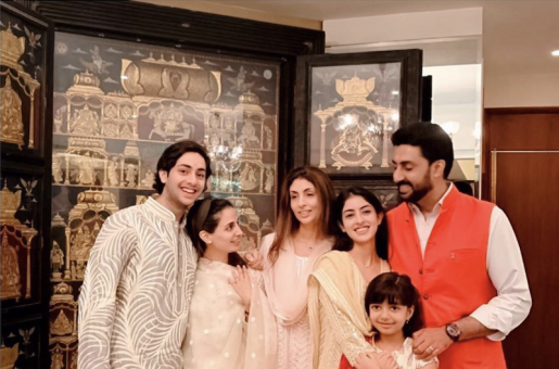 Shweta Bachchan Excluded Aishwarya Rai Bachchan From Raksha Bandhan Photos!