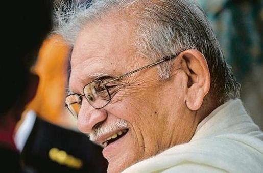 For Gulzar, on His 85th Birthday