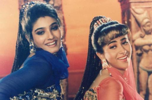 Karisma Kapoor-Raveena Tandon Catfight in the 90s – Blast From the Past