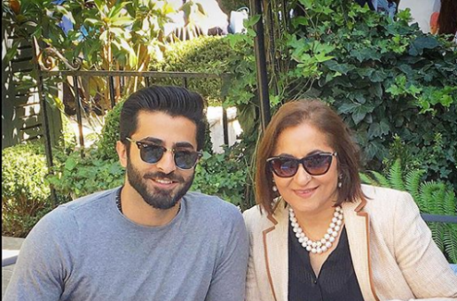 Sheheryar Munawar Pens Down an Emotional Note for His Mother on Her Birthday
