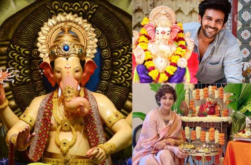 Ganesh Chaturthi Celebrated by the Celebrities with Great Zeal and Zest