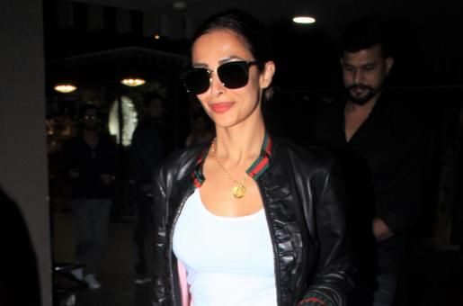 Malaika Arora Slays in Leather for Her Latest Airport Look
