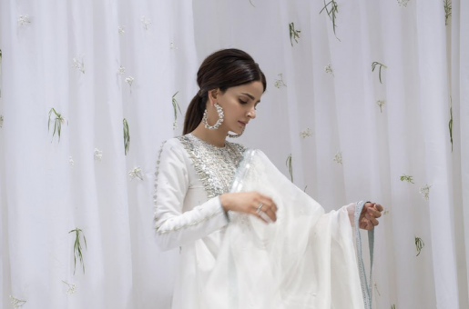 Saba Qamar's Top White Looks