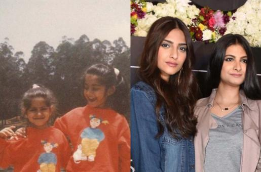 Sonam Kapoor Shares a Throwback Picture with Sister Rhea Kapoor in Red Which is Zoya's Lucky Color