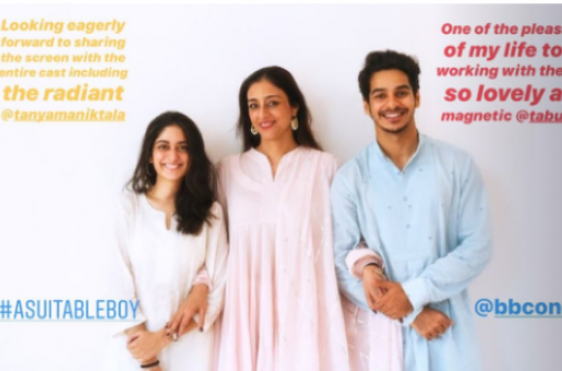 Ishaan Khatter, Tabu Begin Filming For Mira Nair's A Suitable Boy Today