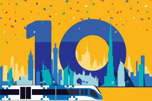 Dubai Metro 10 Years: Here's How You Can Win a Dhs1000 Nol Card Today!