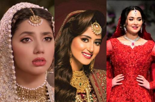 Mahira Khan, Sajal Ali, Hania Aamir and More: Best Bridal Looks of Lollywood