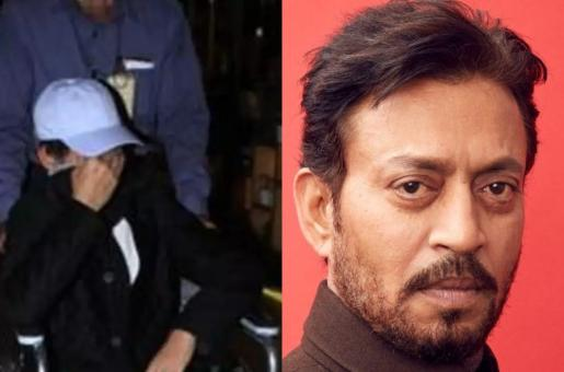 Irrfan Khan Spotted at the Airport on a Wheelchair