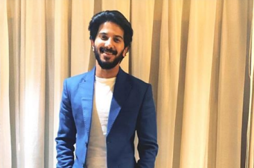 Dulquer Salmaan pulls the dapper DQ factor well in blue suit