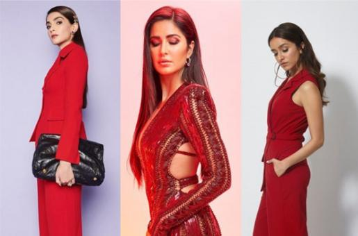 Bollywood Starlets Who Rocked Red This Week