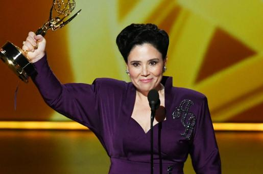 Alex Borstein Wins Emmy for Best Supporting Actress, Asks Women to Step Out of Line