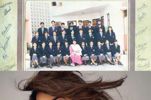 Sushmita Sen Shares a Throwback Group Photo From Her High School Days When She Was Just 17