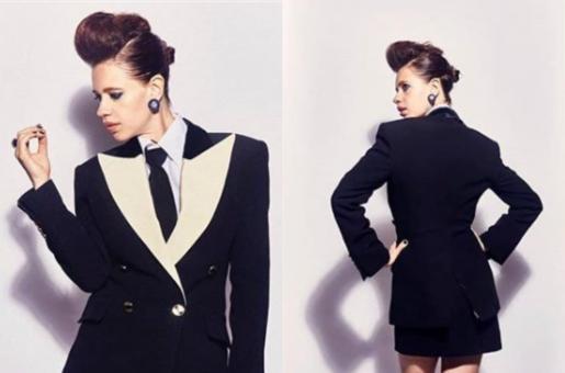 Kalki Koechlin Slays in Bold Tuxedo Look in Recent Pics!