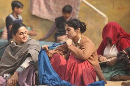 Taapsee Pannu and Bhumi Pednekar Pay Tribute to Women in Saand Ki Aankh: Watch New Song