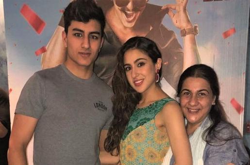 Amrita Singh says Sara Ali Khan and Ibrahim Ali Khan are messy kids