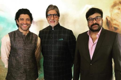 Chiranjeevi Seeks Amitabh Bachchan, Farhan Akhtar's Help for Film