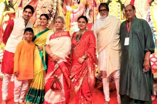 Amitabh Bachchan, Kajol, Priyanka Chopra and Other Bollywood Stars Celebrate Durga Ashtami