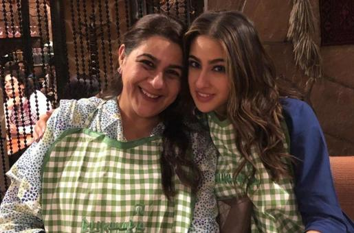 Sara Ali Khan and Mother Amrita Singh Do Not Care for Diet When They Are together