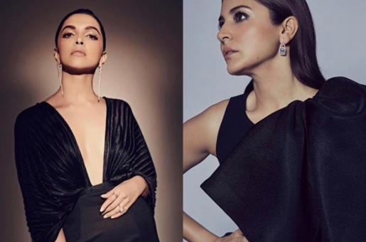 How Deepika Padukone, Anushka Sharma Are Slaying In These Black Dresses