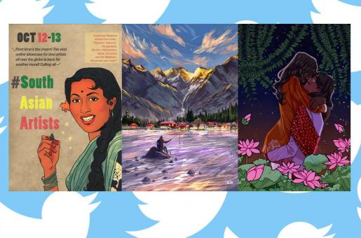 South Asian Artists and Why They Are Trending on Twitter