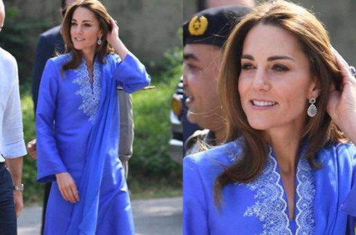 Kate Middleton Makes A Royal Statement In Blue