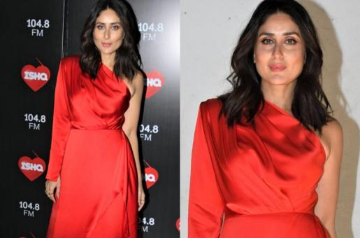 Kareena Kapoor Flaunts A Bold Red Look In Latest Pics