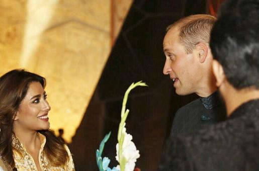 Prince William and Kate Middleton in Pakistan: Mehwish Hayat is Pleased to Meet the Prince