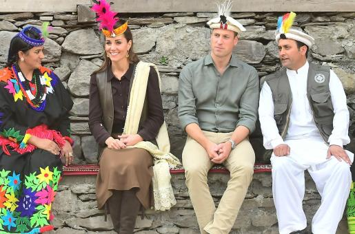 Kate Middleton and Prince William in Pakistan: Kate Middleton Tries to Learn the Local Dialect in Kalash, Chitral