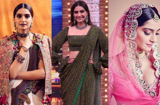 Sonam Kapoor Channels Her Inner Desi Girl In These Looks