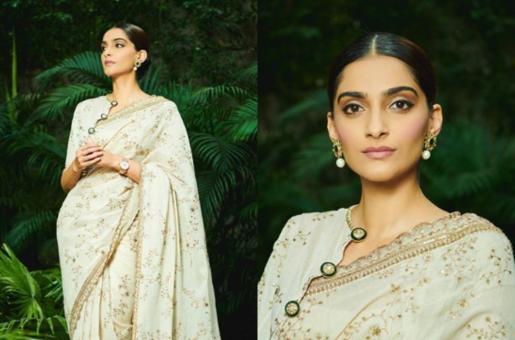 Sonam Kapoor Looks Like a Modern-Day Royalty in a Sabyasachi Sari