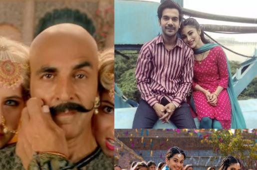 Akshay Kumar's Housefull 4 Gets Competition from Taapsee Pannu and Rajkummar Rao's Films This Diwali