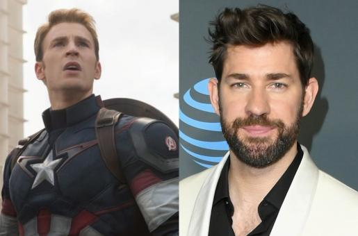 Chris Evans Replaced by John Krasinski in Captain America? Find out here!