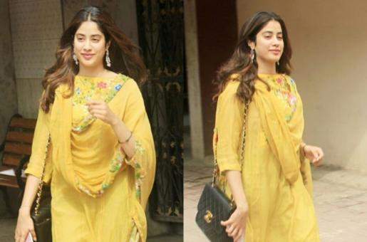 Janhvi Kapoor Hilariously Trolled for Leaving Tag on Her Dupatta