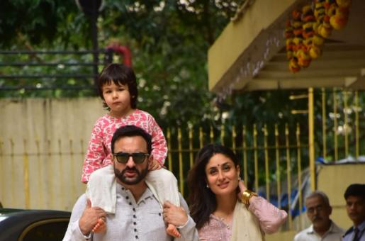 """Saif Ali Khan's """"Concept of India"""" Comment Thrashed by BJP Leader While Naming Taimur in Twitter post"""