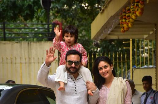 Kareena Kapoor, Saif Ali Khan And Baby Timmy Will Make Your Day With THIS Picture