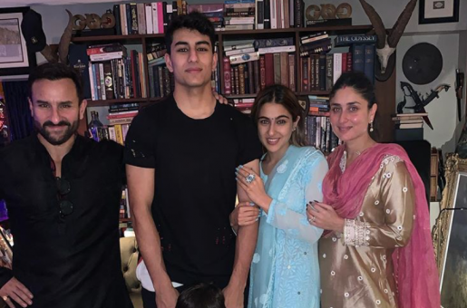 Sara Ali Khan's Diwali Pictures With Saif Ali Khan And Family Are Too Adorable For Words