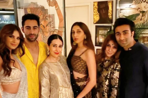 Tara Sutaria Joins The Kapoor Family For Diwali celebrations