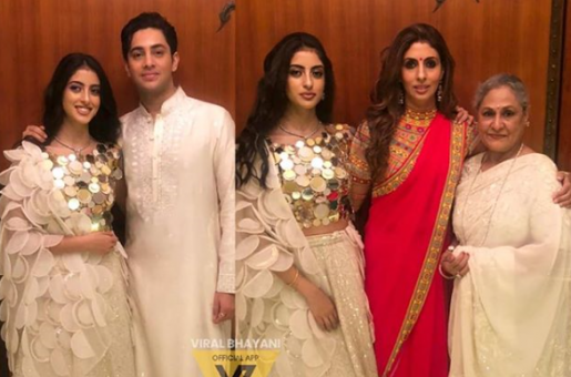 Shweta Bachchan's Children Celebrate Diwali like Grandmother Jaya Bachchan