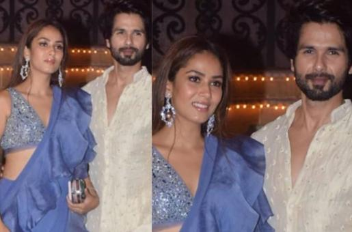 Shahid Kapoor, Mira Rajput Dazzle the Night Away in Traditional Attire