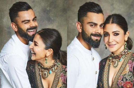 Anushka Sharma, Virat Kohli are All Loved Up This Diwali