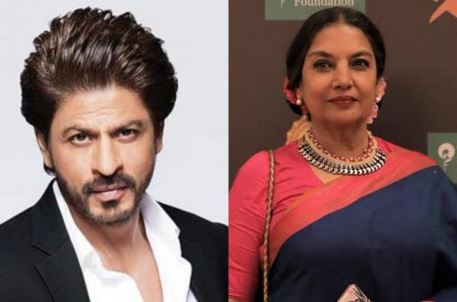 Shah Rukh Khan Gets Called A 'False Muslim', Shabana Azmi Comes Out To His Defense