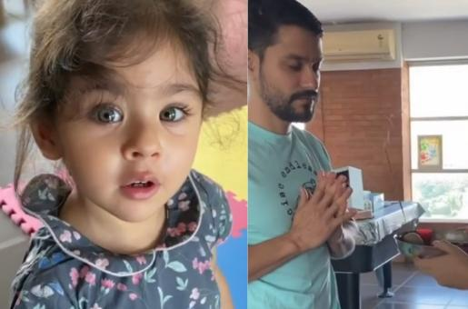 Inaaya Naumi Kemmu's Cute Video Singing Gayatri Mantra is Breaking the Internet