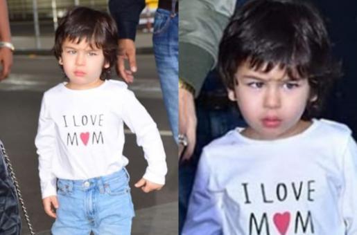 Taimur Ali Khan Wears Long Leather Boots Twinning with Mother Kareena Kapoor Khan