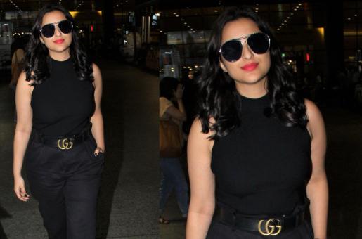 Steal Her Style: Parineeti Chopra's All-Black Airport Look