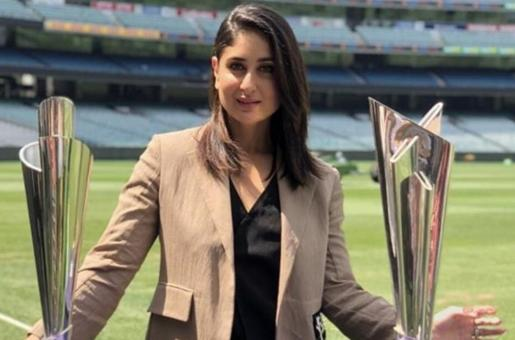 Kareena Kapoor Khan unveils the ICC T20 World Cup Trophies in Melbourne
