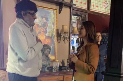 Kriti Kharbanda was called 'Mohtarma' by Amitabh Bachchan While Filming Chehre