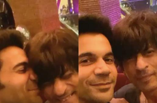 Shah Rukh Khan Makes RajKummar Rao's Dream Come True and the Stree Actor Cannot Stop Blushing