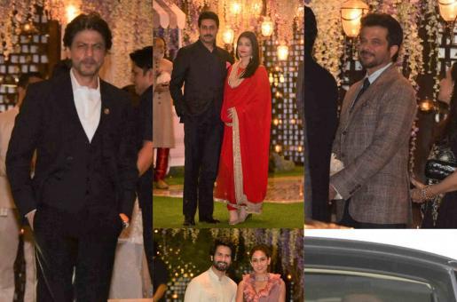 In Pics: Shah Rukh Khan, Aishwarya Rai Bachchan, Jacqueline Fernandez and More Celebrities Attend Mukesh Ambani's Nephew's Pre-Wedding Bash