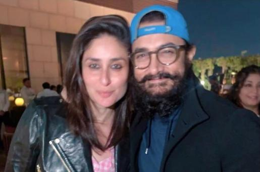 Kareena Kapoor Khan and Aamir Khan Celebrate Laal Singh Chaddha Kickoff with a Party: See PICS