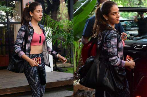 Mira Kapoor Sports A Refreshing Look Ahead Of The Day's Gym Session